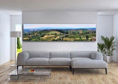 Tuscan Vista Installed